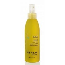 Płyn silnie nabłyszczający do włosów Spray shine Una, 150ml