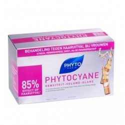 Rewitalizujące serum przeciw wypadaniu włosów u kobiet, PHYTOCYANE, 12 x 7,5ml
