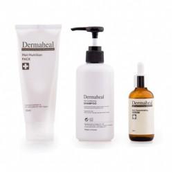 Innowacyjny zestaw Dermaheal, powstrzymuje wypadanie oraz pobudza włosy do wzrostu