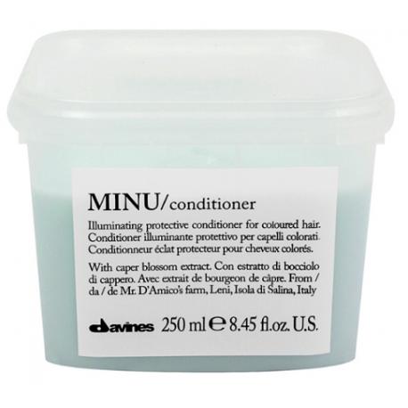 Rozświetlająca odżywka do włosów farbowanych, MINU conditioner, Davines, 250ml
