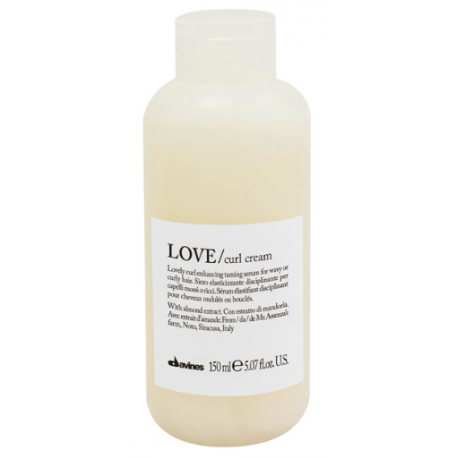 Uelastyczniające dyskretnie definiujące skręt serum bez spłukiwania, LOVE curl cream, Davines, 150ml
