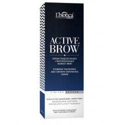 Serum zagęszczające i przyśpieszające wzrost brwi, L'Biotica Active Brow, 3,5ml