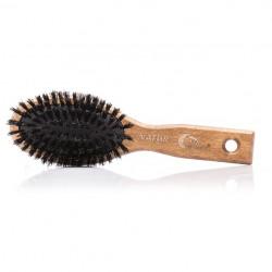 Szczotka z naturalnego włosia, mała