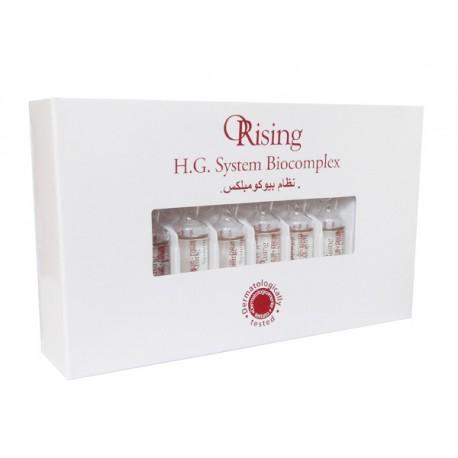 Ampułki przeciw wypadaniu włosów HG System Orising 12x7ml