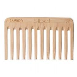 Antystatyczny grzebień bambusowy, średni