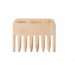 Antystatyczny grzebień bambusowy, mały